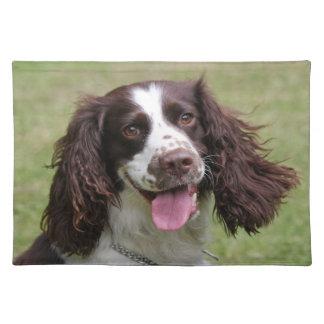 English Springer Spaniel dog beautiful photo, gift Place Mat