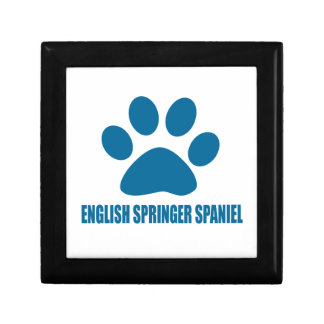 ENGLISH SPRINGER SPANIEL DOG DESIGNS GIFT BOX