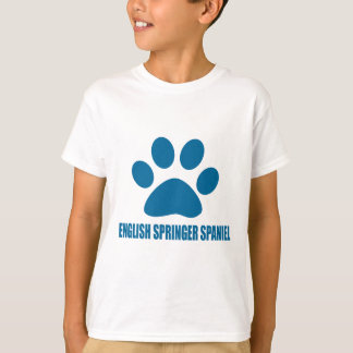 ENGLISH SPRINGER SPANIEL DOG DESIGNS T-Shirt