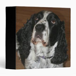 English Springer Spaniel Dog Photo Vinyl Binders
