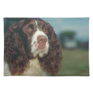 English Springer Spaniel Dog Placemat