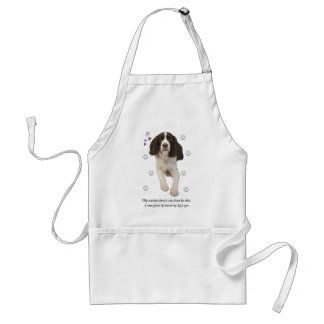 English Springer Spaniel Dog Standard Apron