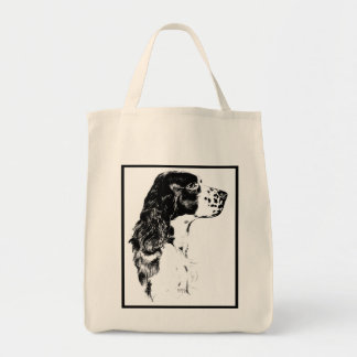 English Springer Spaniel Dog Tote Bag