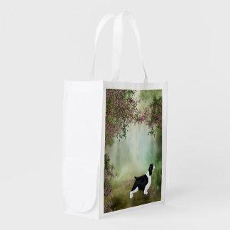 English Springer Spaniel Folding Shopping Bag