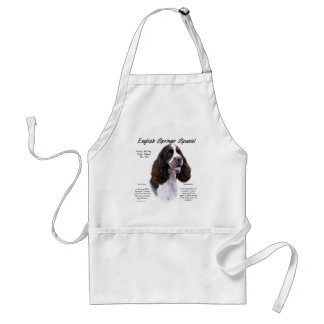 English Springer Spaniel (liver) History Design Standard Apron