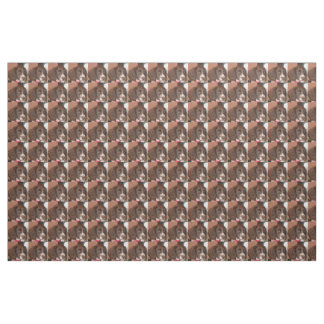 English_Springer_Spaniel lw puppy Fabric