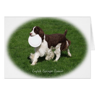English Springer Spaniel Note Card