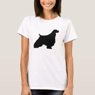 English Springer Spaniel silo black T-Shirt