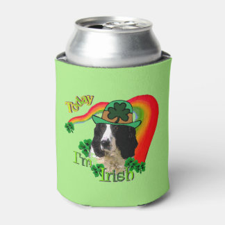 English Springer Spaniel St Patricks Day Gifts Can Cooler