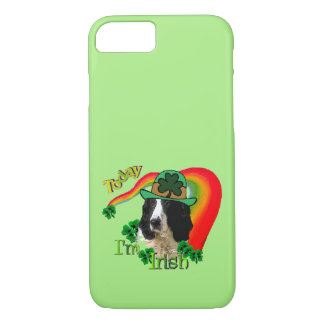 English Springer Spaniel St Pattys iPhone 8/7 Case