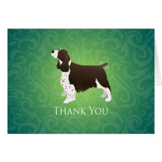 English Springer Spaniel Thank You Card