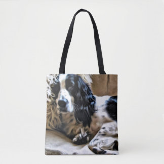 English Springer Spaniel Tote Bag
