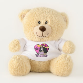 English Springer Spaniel Valentines Day Teddy Bear