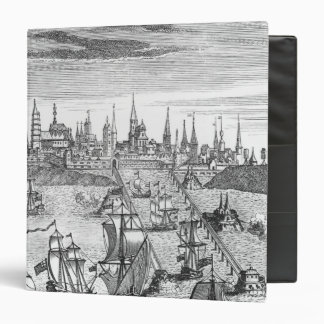 English Squadron Carrying Troops Vinyl Binder
