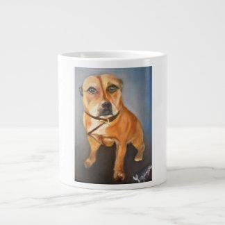 English Staffordshire Bull Terrier Jumbo Mug