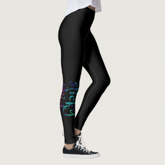 English STICKY VOID in Watercolor Leggings