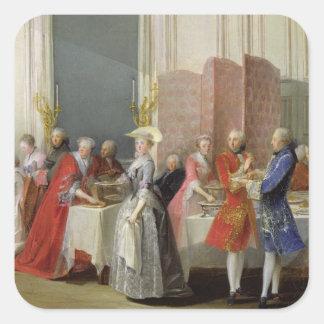 English Tea in the Salon des Quatre Glaces Sticker