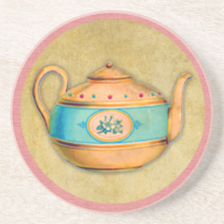 English Tea Kettle Coaster