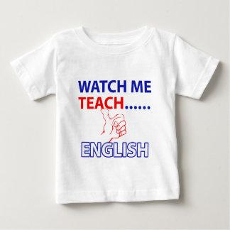 ENGLISH Teach Baby T-Shirt