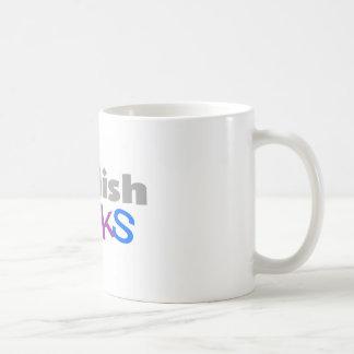 "English Teacher ""English Rocks"" Gifts Classic White Coffee Mug"