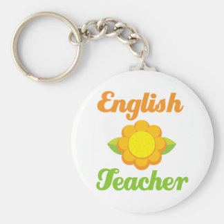 English Teacher Keychain
