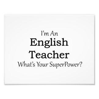 English Teacher Photo Art