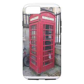 English Telephone Booth iPhone 7 Case