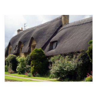 English Thatched Cottage Postcard
