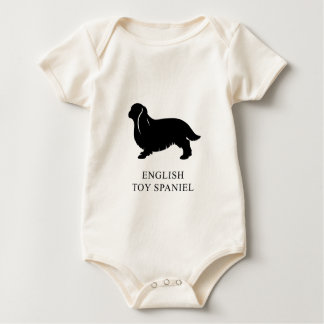 English Toy Spaniel Baby Bodysuit