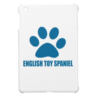 ENGLISH TOY SPANIEL DOG DESIGNS iPad MINI COVER