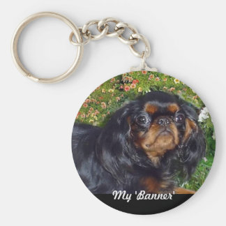 English Toy Spaniel Keychain