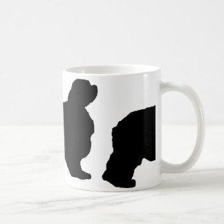 english toy spaniel silo coffee mug