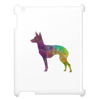 English Toy Terrier in watercolor iPad Cases