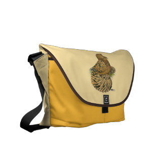 English Trumpeter Almond Commuter Bag