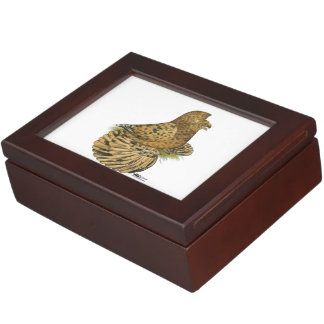 English Trumpeter Almond Keepsake Box