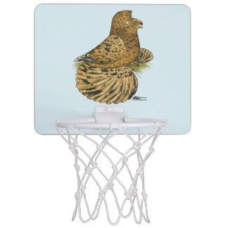 English Trumpeter Almond Mini Basketball Backboard