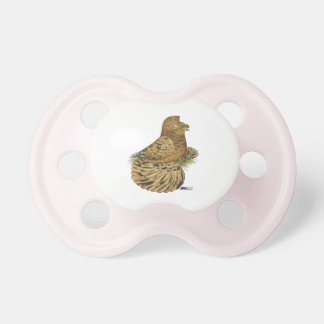 English Trumpeter Almond Pacifier