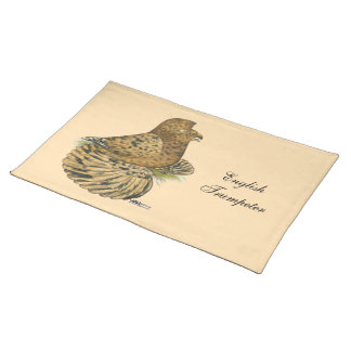 English Trumpeter Almond Placemat