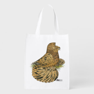 English Trumpeter Almond Reusable Grocery Bags