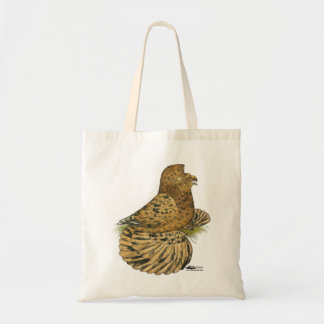 English Trumpeter Almond Tote Bag