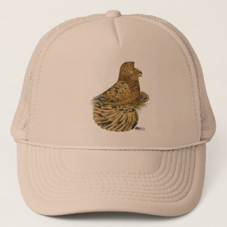 English Trumpeter Almond Trucker Hat