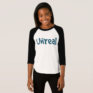English UNREAL in Stars T-Shirt
