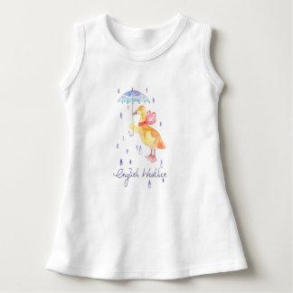 """English Weather"" Baby Sleeveless dress"