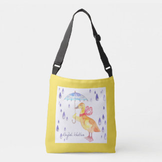 """English Weather"" Kids Body Bag Yellow"