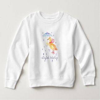 """""""English Weather"""" Toddler fleece sweatshirt"""