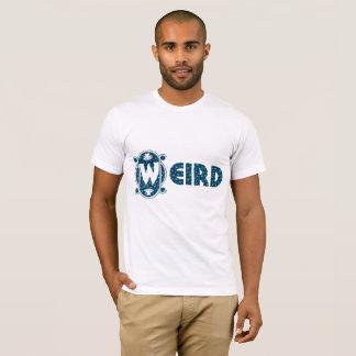 English WEIRD in Stars T-Shirt