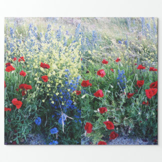 English Wildflowers - Wrapping Paper