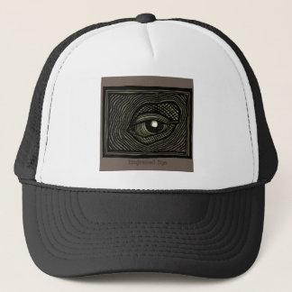 Engraved Eye Trucker Hat