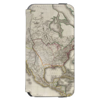 Engraved Map of North America Incipio Watson™ iPhone 6 Wallet Case
