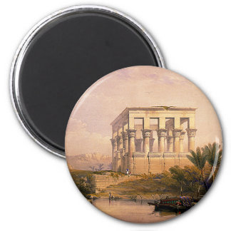 Engraved on stone by Louis Haghe 2 Inch Round Magnet